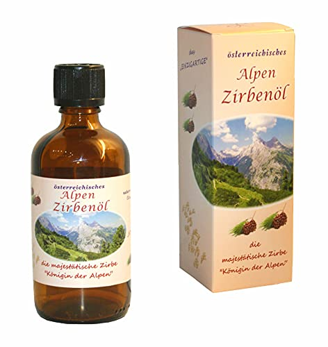 Alpen-Zirbenöl - naturrein - 100% bestes Zirbenöl (150 ml)