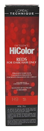 L'Oreal Excellence HiColor Red Hot, 1.74 oz (Pack of 3)