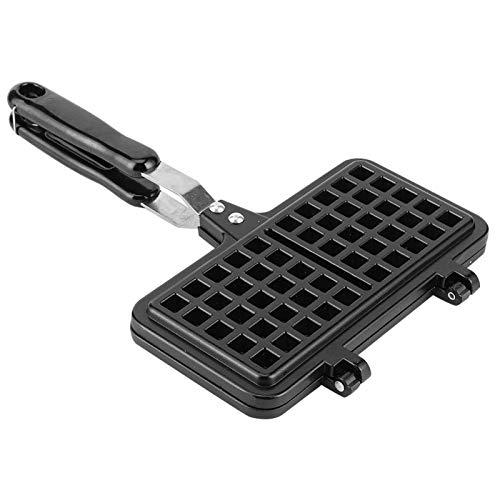 Máquina de waffle, máquina de fazer waffles, antiaderente, durável, fácil de limpar, qualquer café da manhã para waffles