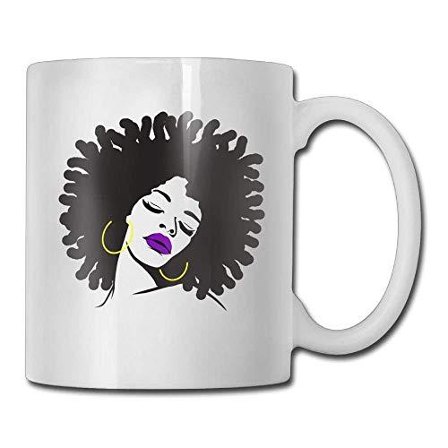 African American 3 Coffee Mug 11 Oz Womens Funny Ceramic Gifts Tazza da tè Tazza da caffè 11oZ il regalo perfetto per la famiglia e gli amici