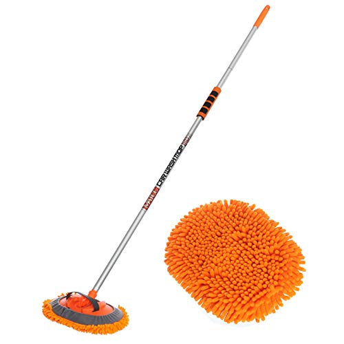 MATCC 62'' Car Wash Mop Mitt Brush Kits with Long