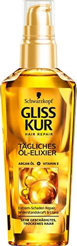 SCHWARZKOPF GLISS KUR Tägliches Öl-Elixier Ultimate Repair, 1er Pack (1 x 75 ml)