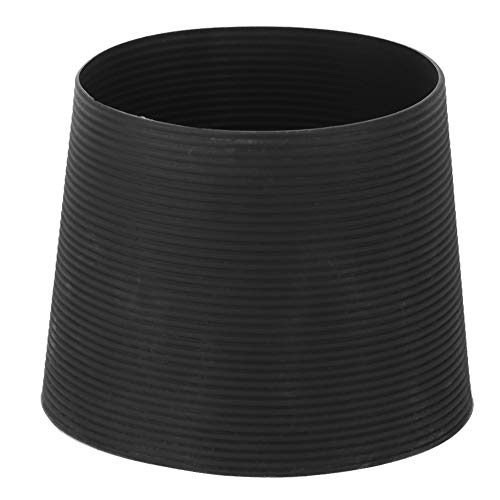 Cubierta de la Taza, Funda Protectora de la Manga de la Taza Cubierta Negra Durable para Taza de café para Botella de Vidrio
