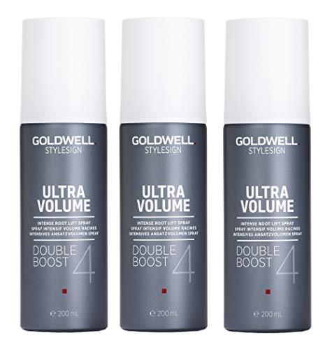 3er Intensives Ansatzvolumen Spray Goldwell Stylesign 4 Ultra Volume Double Boost 200 ml