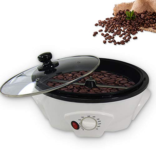 Household Coffee Roaster Machine Electric Coffee Beans Roaster for Cafe Shop Home (Upgrade 110V-120V)