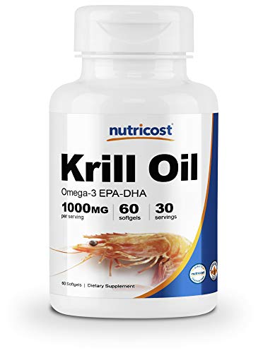 Nutricost Krill Oil 1000mg Supplement review