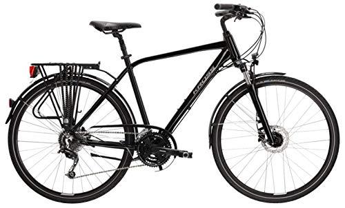 Bicicleta de trekking Kross Trans 5.0 negro/gris brillante 2021 L-21
