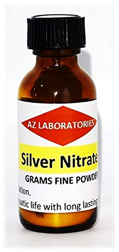 sold out Silver Nitrate Financial sales sale Crystals Powder 25 99.99 Quality Finest Grams