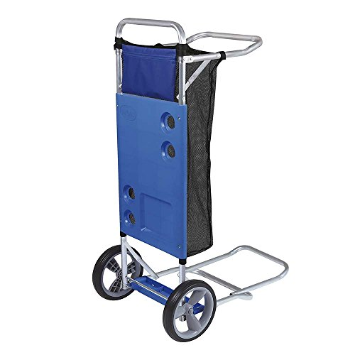 MOR Beach Cart with Extension for Cooler and Cargo Net