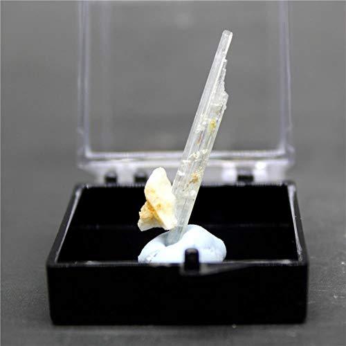 KAPU 100% Rare Natural Aquamarine Gem Mineral Specimen Stones And Crystals Healing Crystals Quartz Gemstones Send Box,Style 2
