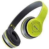EWQK Auriculares Inalámbricos 5.0 Auriculares Bluetooth Auriculares Música Música Estéreo Cascos Aur...