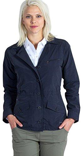 ExOfficio Women's Round Trip Jacket, Black Medium