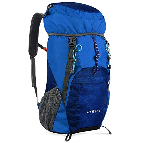 Gywon Hiking-Daypacks-Travel-Backpack-Foldable-Carry-On Cabin Luggage Bag Water Resistant Lightweight 45L