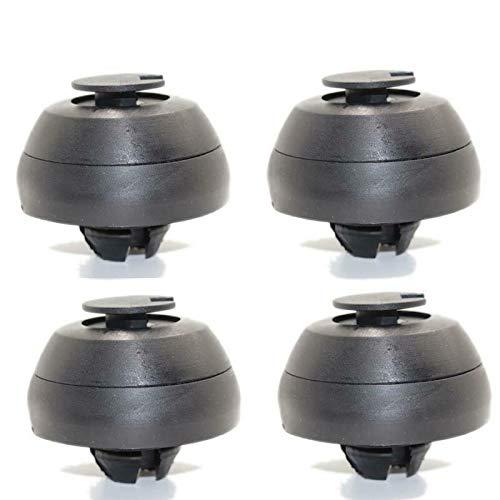 GIVELUCKY Set Jack Pad Autoersatz 4St. Teile 0019979586, Für Mercedes-Benz W124 R129 W208 W210 W215