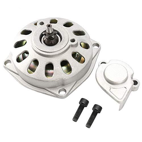 OUKENS Caja de transmisión, Caja de transmisión de reducción de Engranajes T8F de 6 Dientes para 47/49 CC de 2 Tiempos