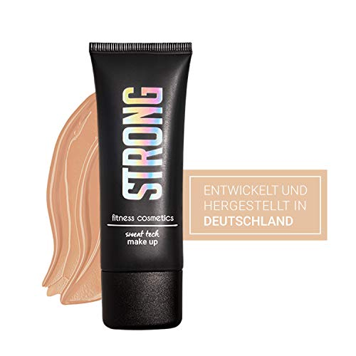 STRONG cosmetics – Wasserfestes Make Up, Farbe: Sand I STRONG Make Up wischfest, wasserfest,...