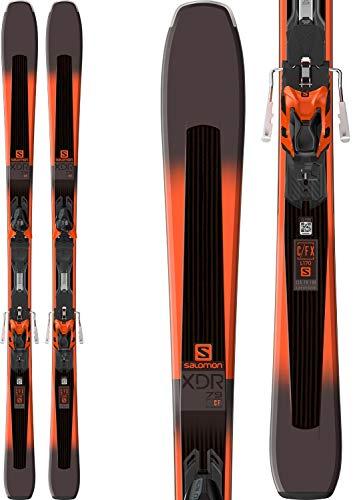 SALOMON XDR 79 CF Ski - XT10 Bindung L39957300 Black/Orange 160 cm