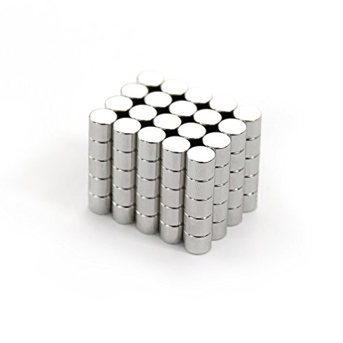 Oblique-Unique® 100 Neodym-Super-Magnete Rund 5 x 4 mm