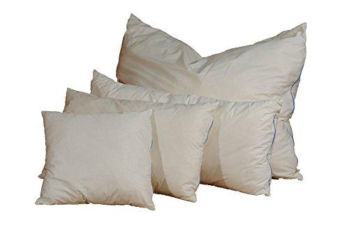 Almohada de lana de oveja, 40 x 80 cm, peso de relleno: 1 kg