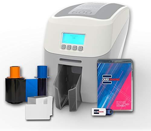 Big Save! Magicard 600 Dual Sided ID Card Printer & Supplies Bundle (3652-5021)