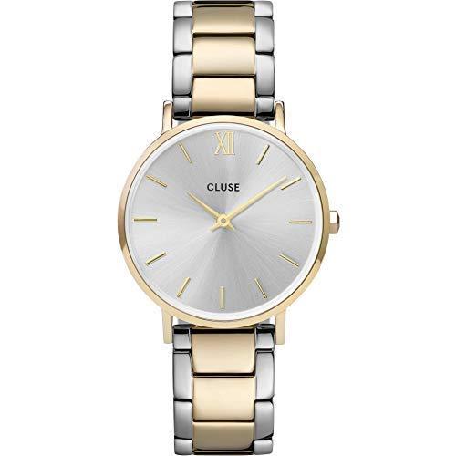 Cluse Reloj Analógico para Señoras de Cuarzo con Correa en Acero Inoxidable CW0101203028