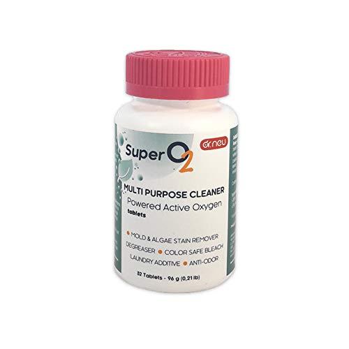 Dr. Neu Super O2, detergente Multiuso in pastiglie all'ossigeno Attivo