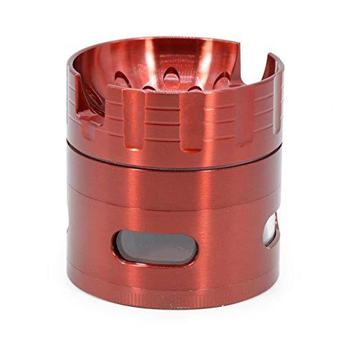 HDGAE crusher grinder zinklegering grinding zout concave verwijderbaar draagbare gebruikte voor keuken 4 lagen diameter 63 mm