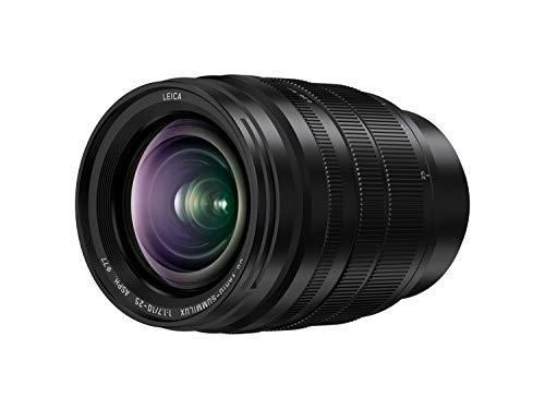 Panasonic LUMIX H-X1025E - Objetivo Leica DG Vario-SUMMILUX (10-25 mm, F1.7 ASPH, Micro Cuatro Tercios, 20-50 mm Equivalente 35 mm, Apertura Máxima F1.7, Tamaño Filtro 77 mm), Negro