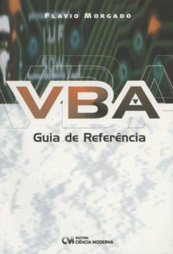 VBA. Guia De Referencia