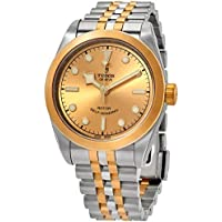 Tudor Black Bay 32 Automatic Champagne Dial Two-tone Ladies Watch