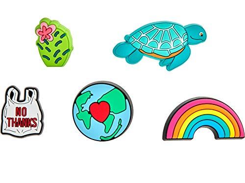 Crocs Jibbitz Charms Nature 5-Packs | Jibbitz for Crocs, Its Our Planet, Small