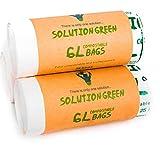 Solution Green 5/6 Litri Sacchetti Biodegradabili con e Senza Maniglia per Pattumiera Umid...