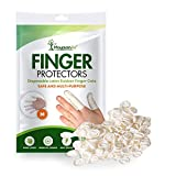Finger Cots – Disposable Finger Protectors – Latex Finger Condoms - Finger Covers Protection for Finger Tips - Electronic Repairs and More – Medical Grade Finger Tips Rubber Guards – 250pcs – Medium