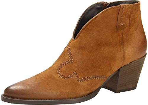 Paul Green 9663 Damen Stiefelette Cognac, EU 38,5