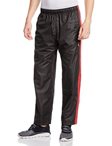[コンバース] バスケットボール パンツ ウォームアップパンツ(裾ボタン) 撥水 透湿 CB162506P ブラック/ホワイト 日本 M (日本サイズM相当)