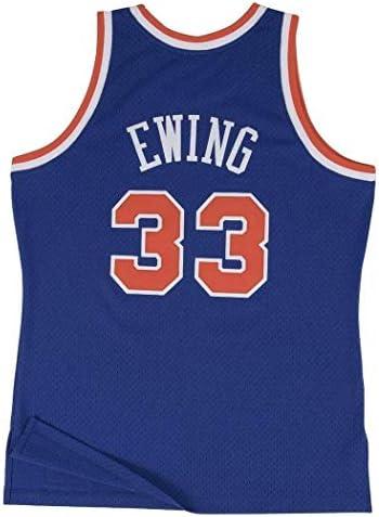Mitchell & Ness Replica Swingman NBA Jersey HWC 33 Patrick Ewing New York Knicks Basketball Trikot