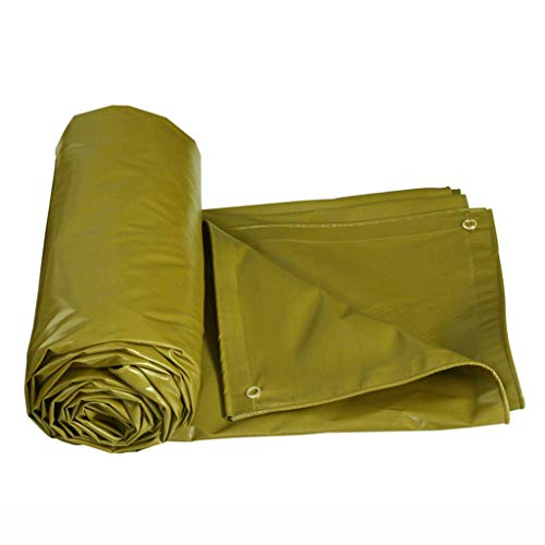 Toile d'ombrage SAP- Tissu Anti-Pluie Bâche de Protection Solaire étanche Bâche extérieure Bâche de Store de Camion Stable (Color : Yellow, Size : 4m*3m)