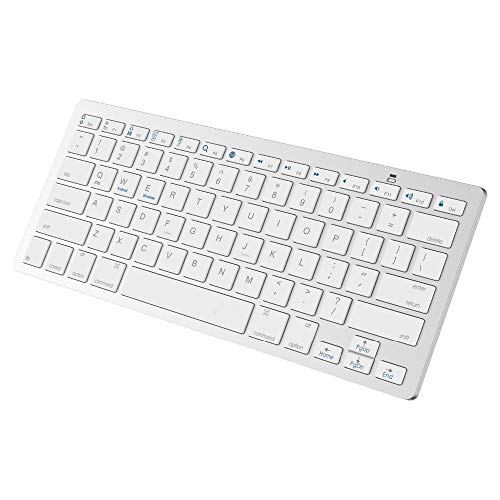 KINLANG - Teclado inalámbrico Ultrafino con Bluetooth 3.0 para Apple iPad Series iOS