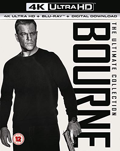 Bourne 4K Collection [Blu-ray] [2017]