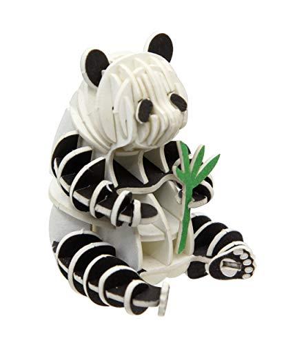 Panda - 3D Paper Puzzle DIY Kit by JIGZLE