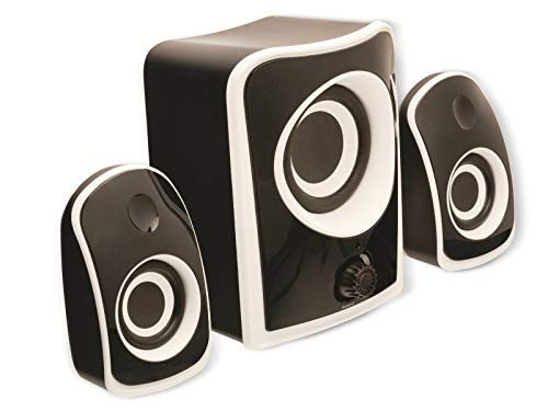 König CS21SPS100BL Lautsprecherset 2.1 schwarz