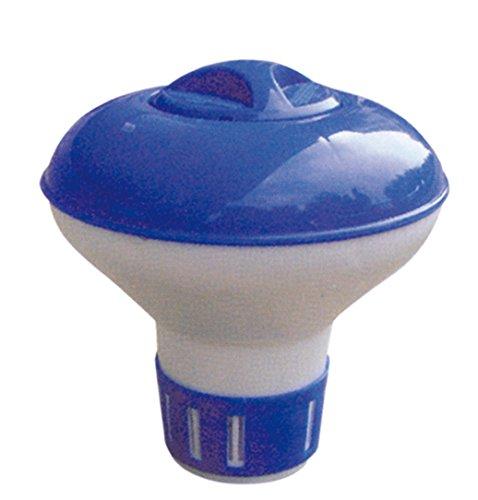GRUPOSANZ Dosificador Cloro Flotante Mini para Piscina/Cloro dispensador de Pastillas de Cloro para Mantenimiento de Piscina