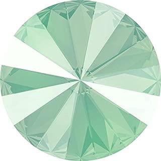 1122 Swarovski Chatons & Round Stones Rivoli Crystal Mint Green | 14mm - Pack of 4 | Small & Wholesale Packs