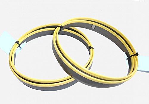 2 x M42 HSS Bimetall Sägebänder Sägeband 2480 x 27 x 0,90 mm 10/14 ZpZ Edelstahl