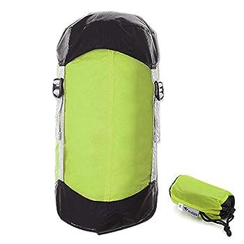 Irfora Sac de Couchage Compression - Sac de Cordon de Compression Ultra-léger pour Sac de Rangement pour randonnées pédestres Camping - 10L / 15L / 20L