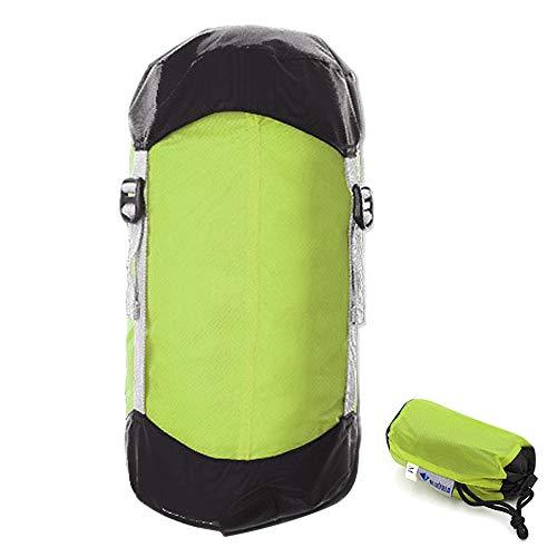 Lixada Kompressionssack Aufbewahrung Schlafsack Kordelzug Organizer 10L/15L/20L für Backpacking Wandern Camping