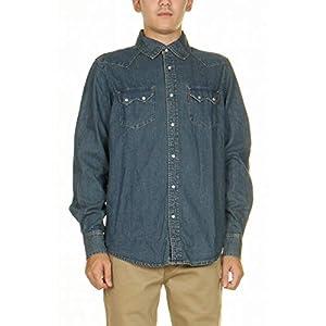 リーバイス 381 長袖 ダンガリー ウエスタンシャツ デニムシャツ LEVI'S RED TAB CONE DENIM WESTERN SHIRT ブルー ワークシャツ