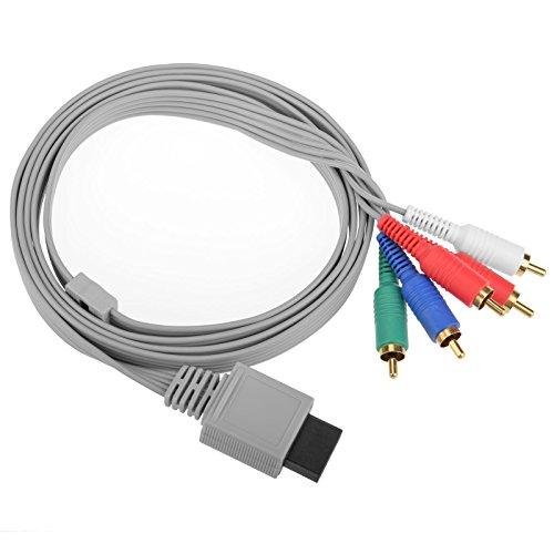 Mcbazel HDAV Component HD AV-Kabel an HDTV / EDTV für Wii und Wii U