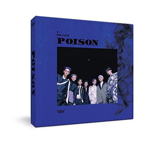 VAV - Poison (5th Mini Album) CD+88p Booklet+1Photocard+1On Pack Poster
