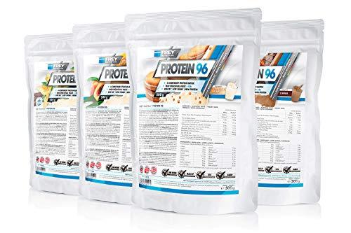 Frey Nutrition Protein 96 4 x 500g Beutel 4er Pack Vanille